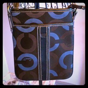 Coach signature C Monroe crossbody purse
